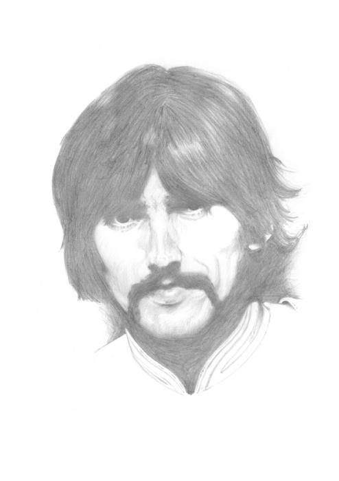 George Harrison par Seags